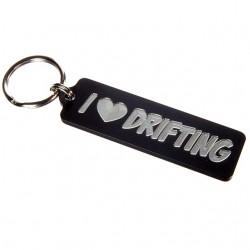 I Heart Drifting Keychain